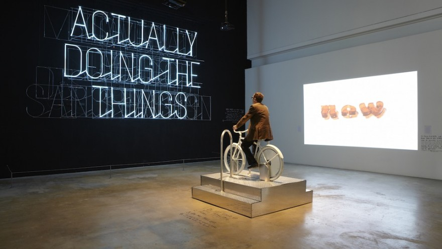 The Happy Show exhibition by Stefan Sagmeister.
