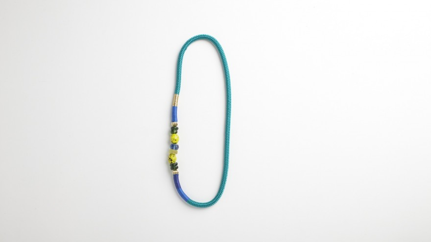 Glass Ndebele necklace from Pichulik's 2014 Spring/Summer Collection. Image: