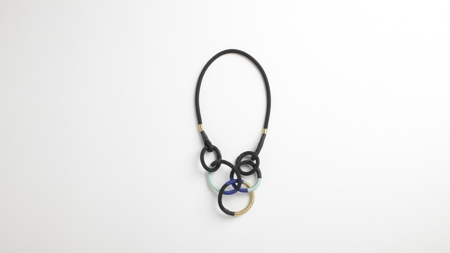 Cirque necklace from Pichulik's 2014 Spring/Summer Collection.