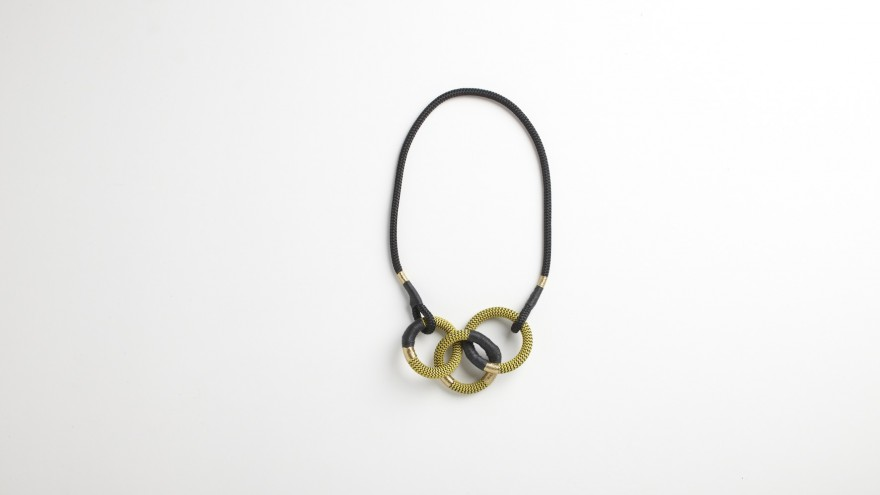 Dynamic Cirque necklace from Pichulik's 2014 Spring/Summer Collection.