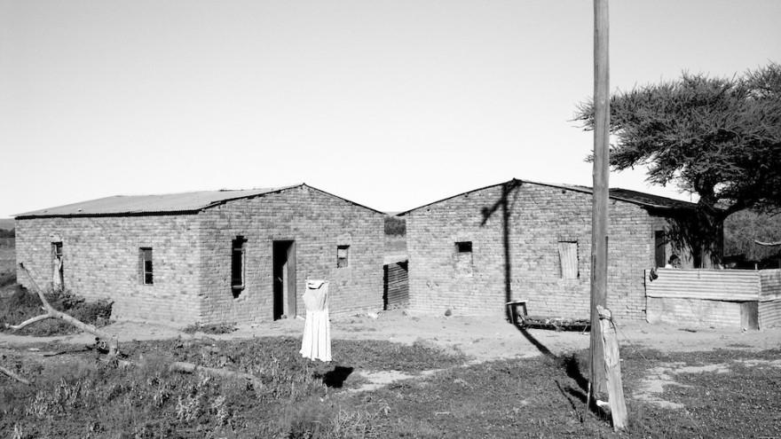 The Frock, Bucklands, Northern Cape. 26 December 1988. Image: David Goldblatt.