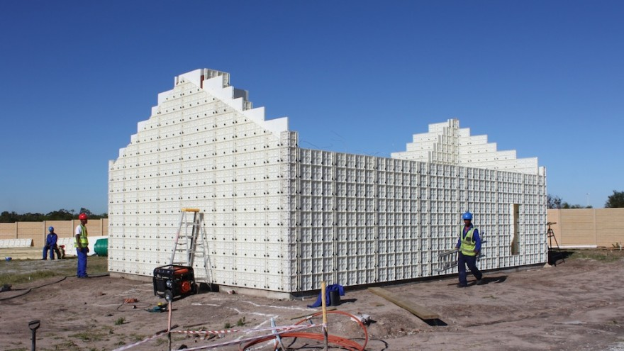 Moladi Plastic Formwork System by Moladi, South Africa