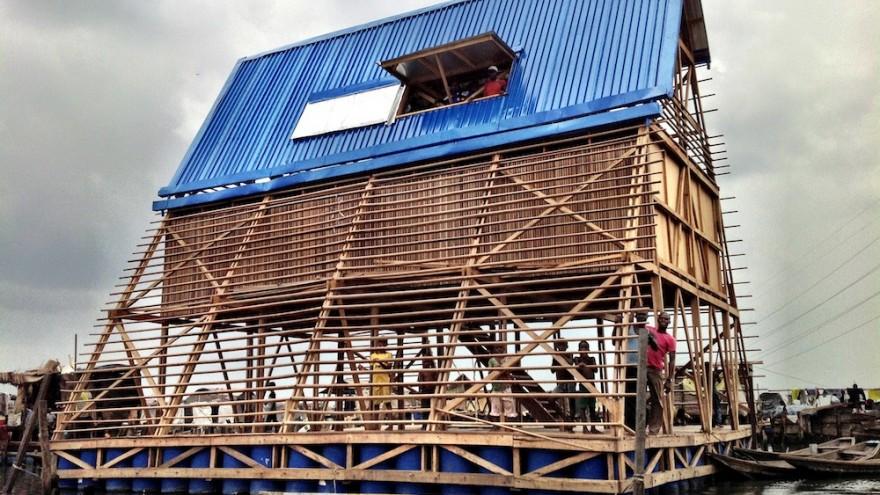 Makoko Floating School by Kunlé Adeyemi of NLÉ Design Architecture and Urbanism, Nigeria