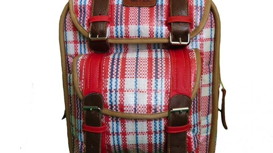 Nostalgia bag Vernac bags by Dennis Chuene, South Africa.