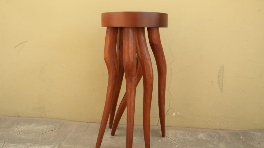 Crazy Legs Table by Tekura Design, Ghana.
