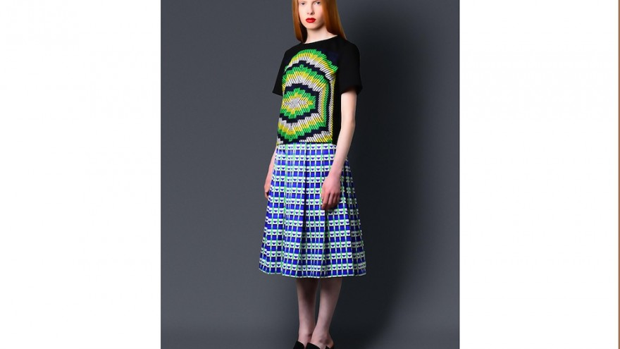 Billie Top and Zama Skirt by Sindiso Khumalo, South Africa.