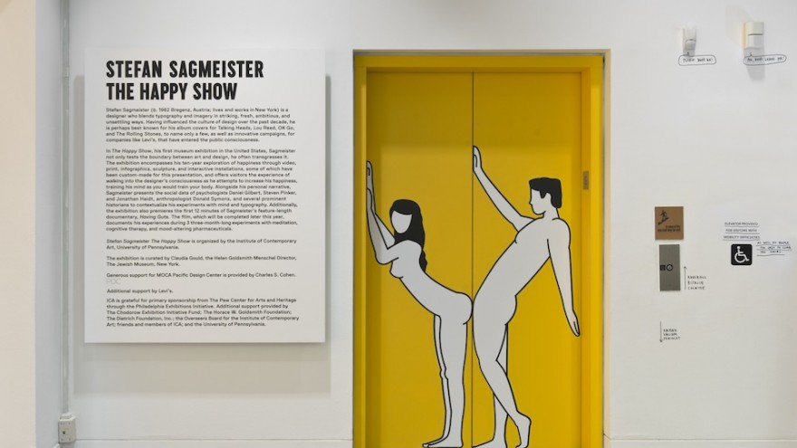 The Happy Show by Stefan Sagmeister.