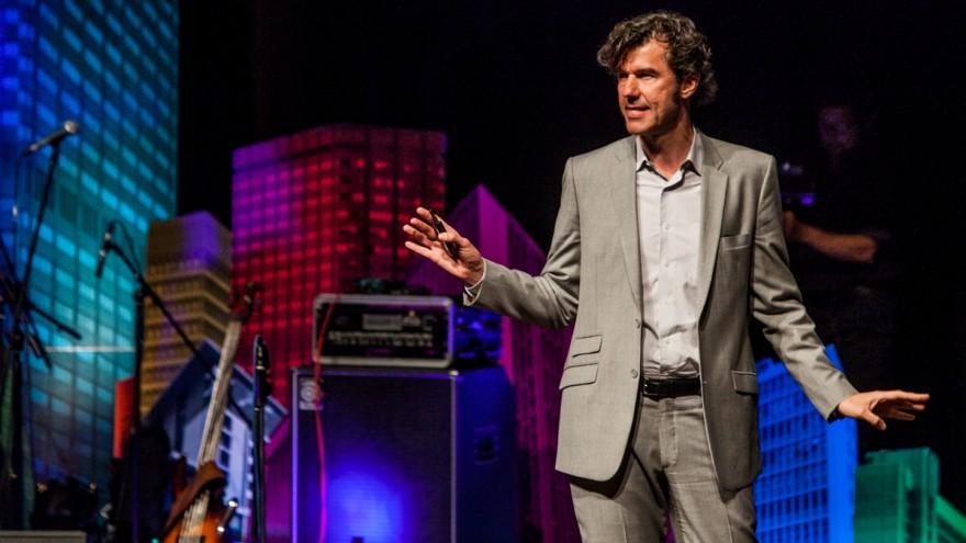 Stefan Sagmeister of NY design firm Sagmeister & Walsh