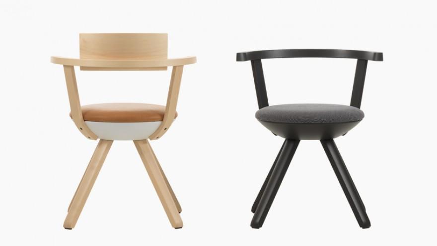 Rival chair by Konstantin Grcic for Artek.