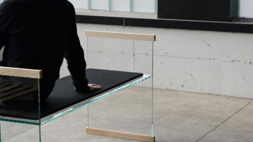 Diapositive bench by Bouroullec Brothers for Glas Italia.