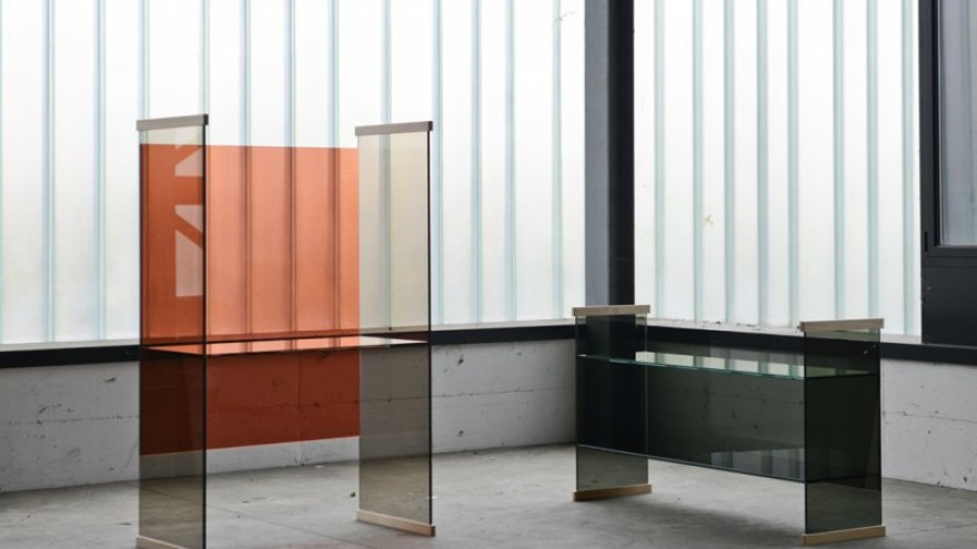 Diapositive range by the Bouroullec Brothers for Glas Italia.