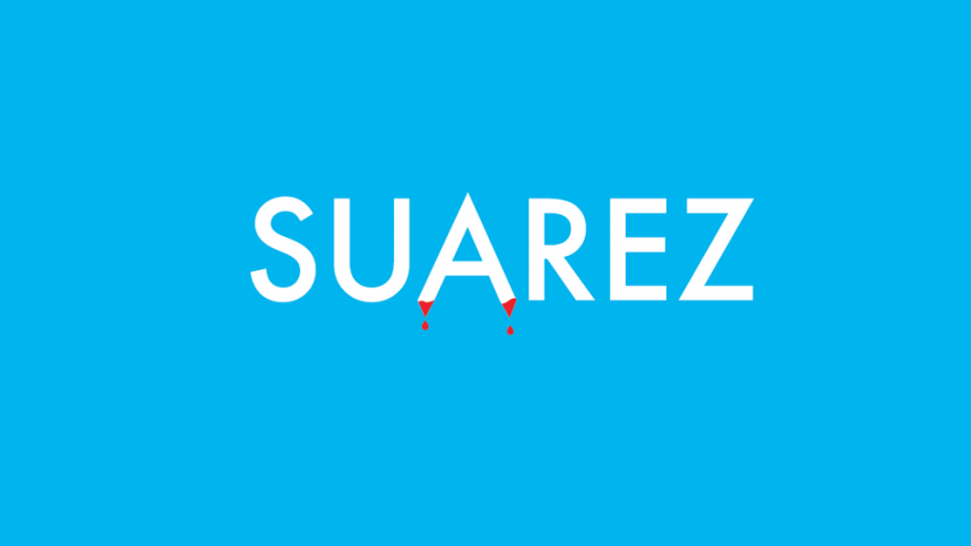 Suarez Word Cup by Ji Lee.