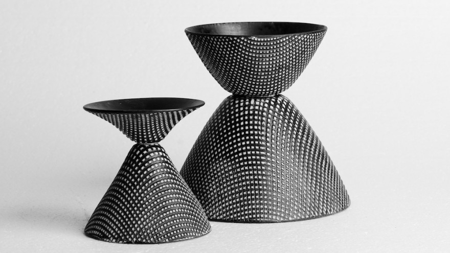 Thread vases. Image: Michael Currin.