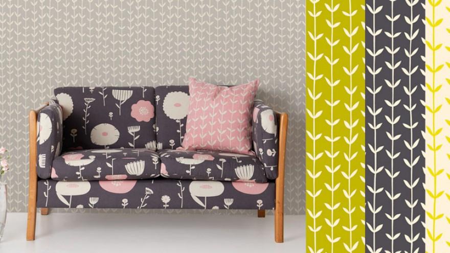 Skinny laMinx wallpaper for Robin Sprong Wallpaper.