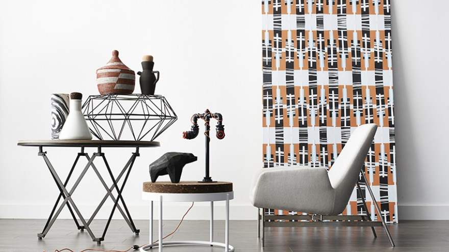 Tiphaine Alston wallpaper for Robin Sprong Wallpaper. Image: Mark Williams.