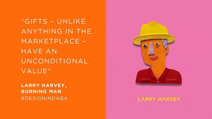 Larry Harvey, Burning Man