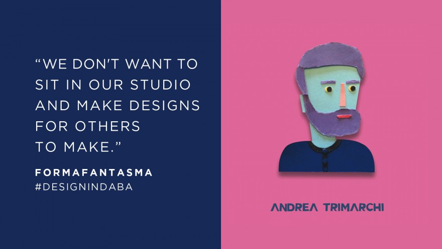 Andrea Trimarchi, Studio Formafantasma
