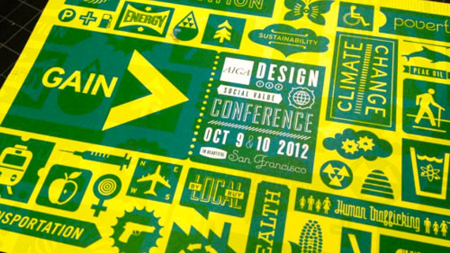 Gain: AIGA Design for Social Value Conference