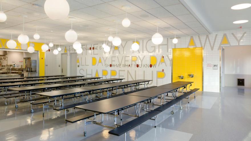 PAVE Academy Charter School. Photo: Peter Mauss/Esto.