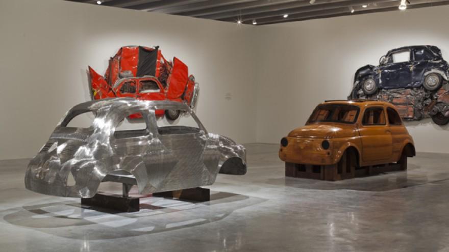 In Reverse exhibition by Ron Arad. Photo: Ron Arad Associates.