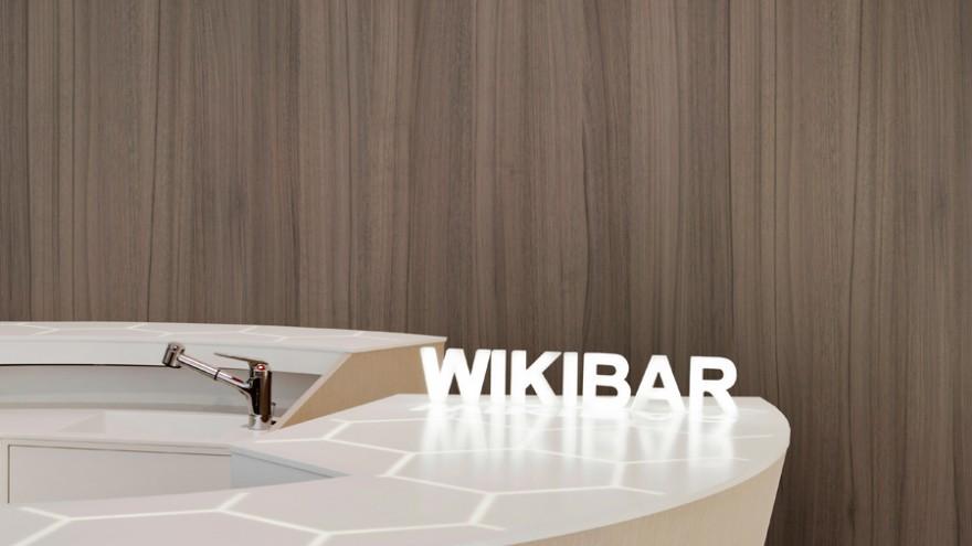 WikiBar by Mathieu Lehanneur. Photo: Michel Giesbrecht.