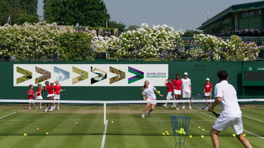 Identity for the Wimbledon Foundation by Hat-trick.