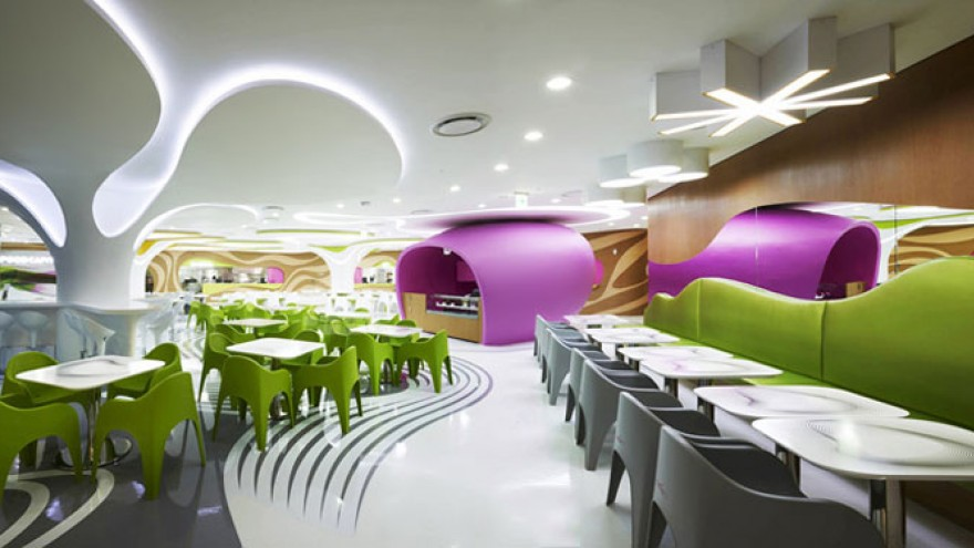 Foodcapitol by Karim Rashid. Photo: Lee Gyeon Bae.