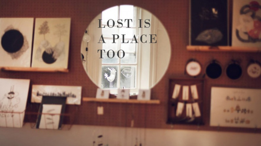 """Lost is a Place Too"" online shop by Lauren Fowler."