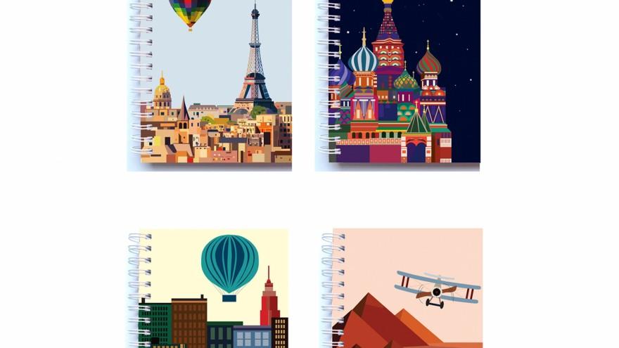 Travel Notebooks by Schwarzie.