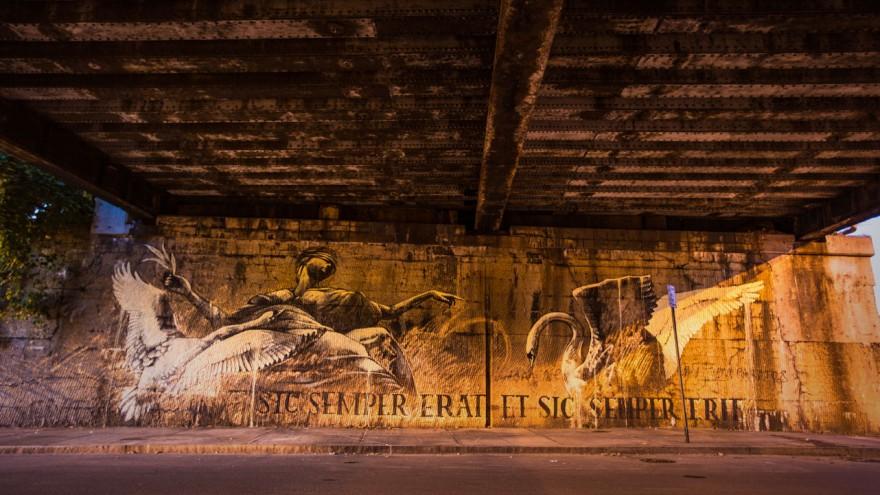 Sic Semper Erat, Et Sic Semper Erit by Faith47. Photo: Mark Deff.