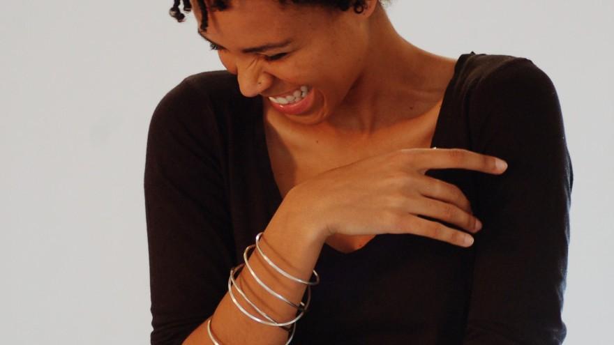 Interrogating the Line Bracelet by Ashley Heather.