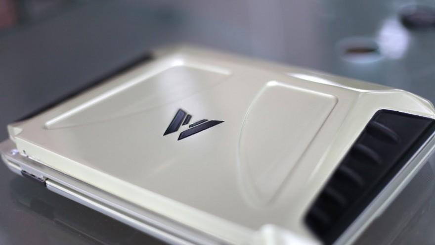Solar Power Laptop by Wewi.