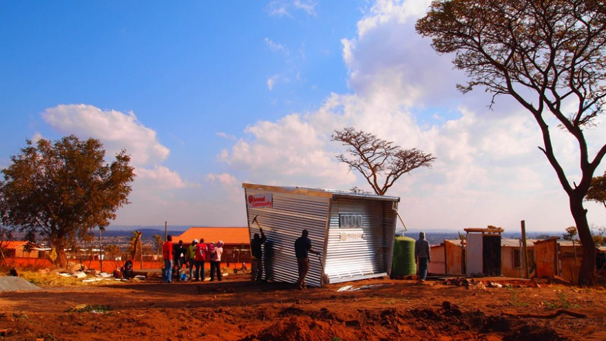 Mamelodi Pod by Architecture for a Change.