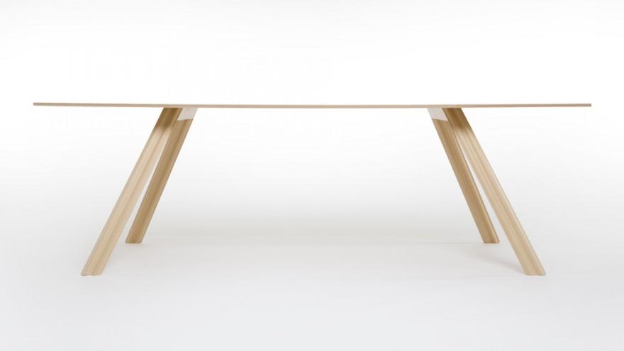Ripple Table by Benjamin Hubert.