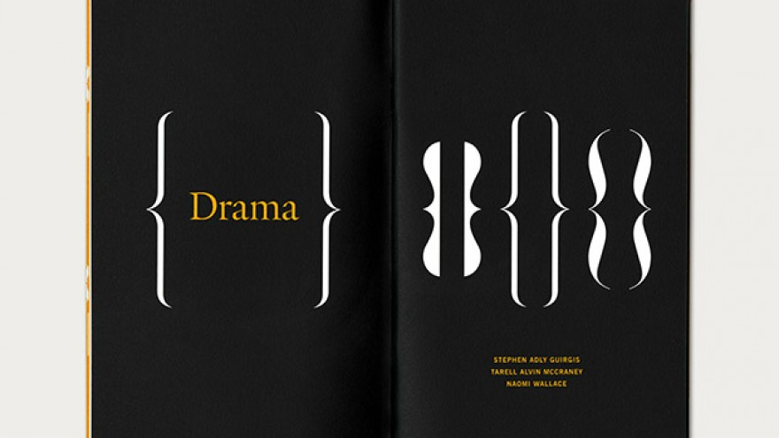 Windham Campbell Prizes identity by Michael Bierut.