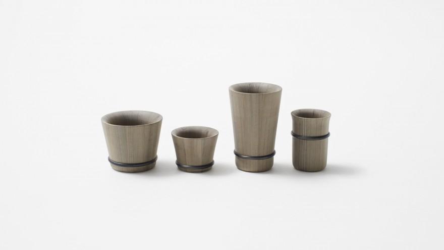 Oke collection by Nendo. Image: Akihiro Yoshida.