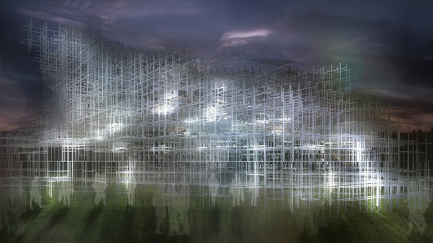 Serpentine Gallery Summer Pavilion Intervention by UVA