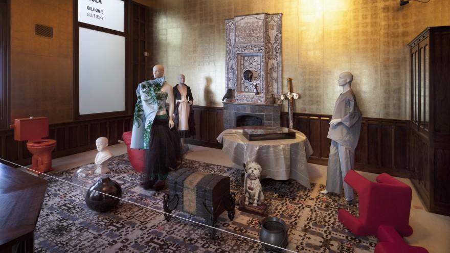 The Seven Sins exhibition by Studio Makkink & Bey.