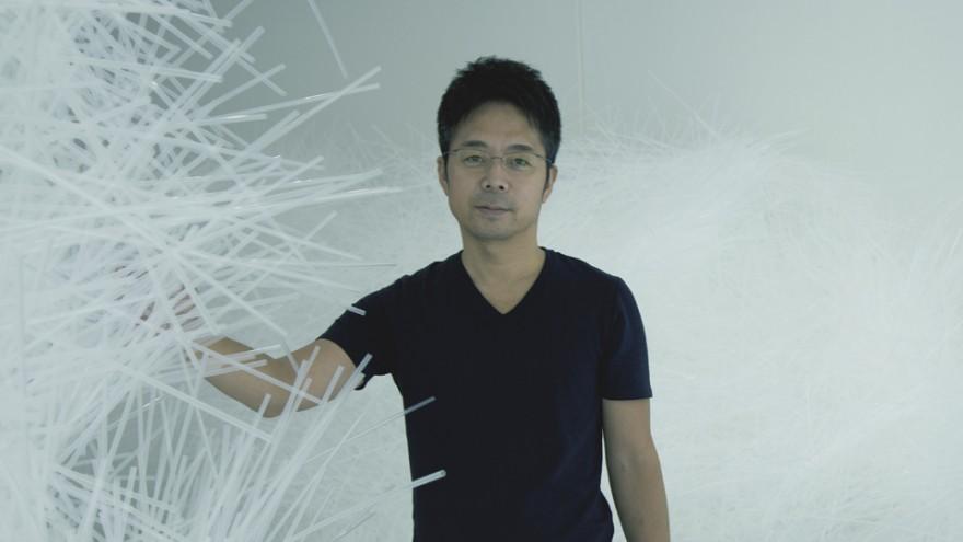 Spider's Thread by Tokujin Yoshioka.