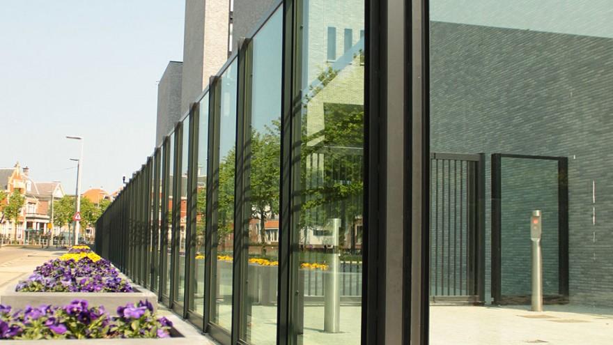 Europol's new headquarters on Eisenhowerlaan in The Hague