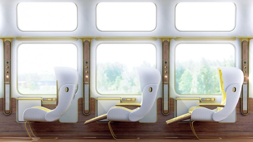 "Christopher Jenner's ""vision of the future of train travel"""