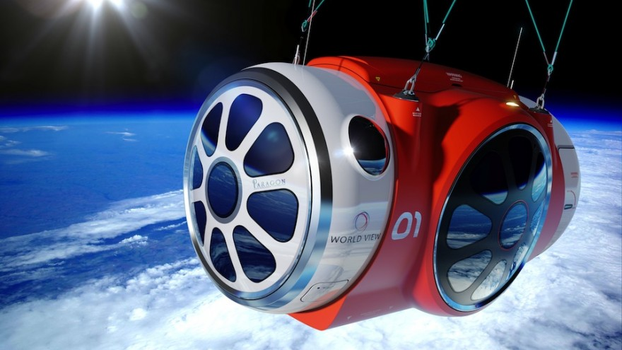 The World View capsule