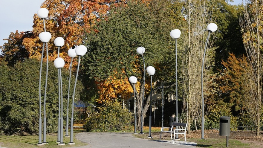 Kristinebergs Slottspark street lamps by Front.
