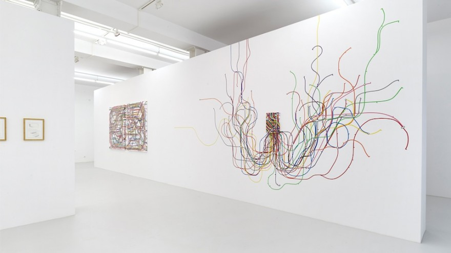 Christoph Niemann's solo exhibition at Galerie Max Hetzler, Berlin.