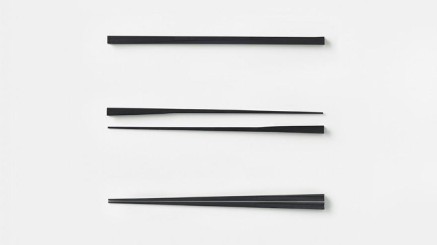 The Kamiai chopsticks by Nendo. Image: Akihiro Yoshida.
