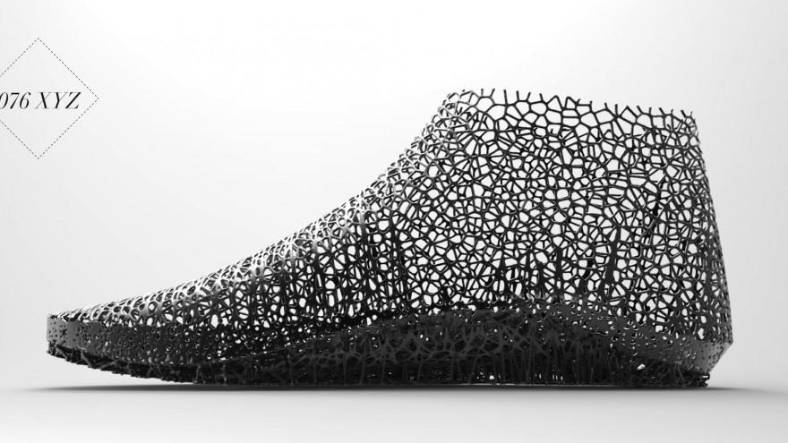 076 XYZ Shoe design by Earl Stewart: Image: Earl Stewart.