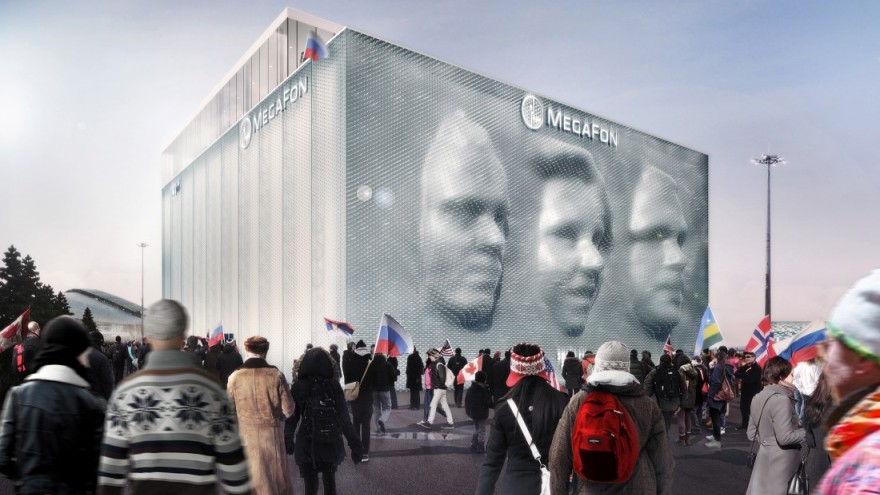 MegaFon Sochi Winter Olympics by Asif Khan.