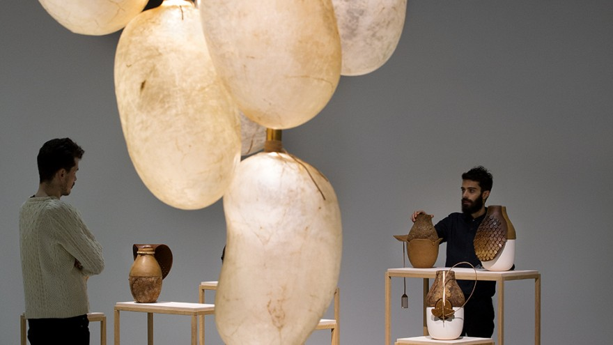 Prima Materia exhibition by Studio Formafantasma.