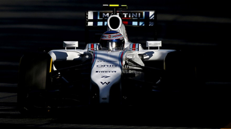 Williams Formula One branding by Hat-trick.