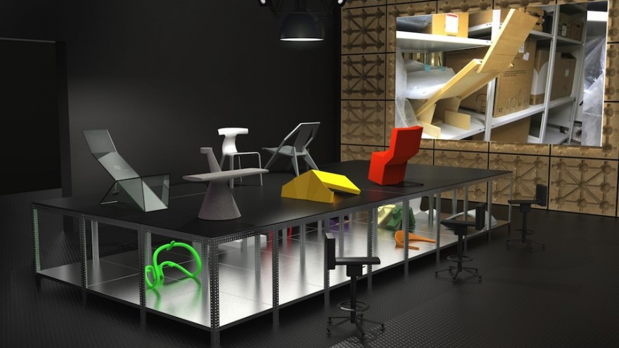 """""""Panorama"""" exhibition by Konstantin Grcic at the Vitra Design Museum."""